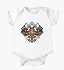 Coat of Arms of Russian Empire One Piece - Short Sleeve