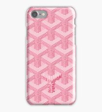 Pink Beauty Goyard - Goyard Pink iPhone Case/Skin
