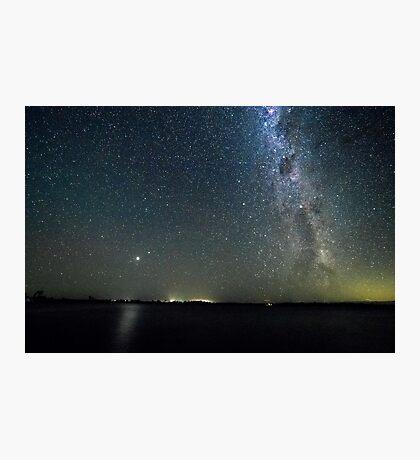 Stars over Eppalock Photographic Print