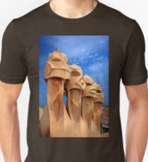 Sentinels of Gaudi on la Pedrera T-Shirt