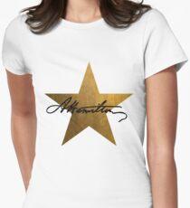 Hamilton Star  Women's Fitted T-Shirt
