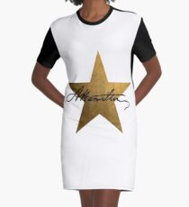 Hamilton Star  Graphic T-Shirt Dress
