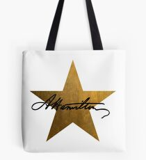 Hamilton Star  Tote Bag