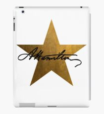 Hamilton Star  iPad Case/Skin