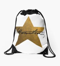 Hamilton Star  Drawstring Bag