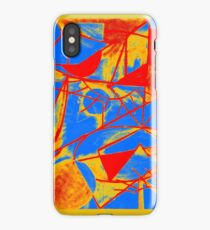 Abstract Primary Colors iPhone Case/Skin