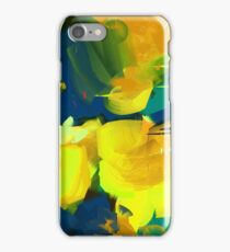 Summer #Abstract #Flowers iPhone Case/Skin