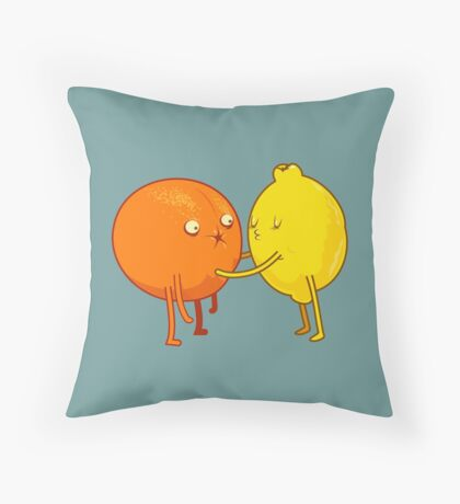 Sour Throw Pillow