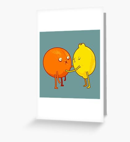 Sour Greeting Card