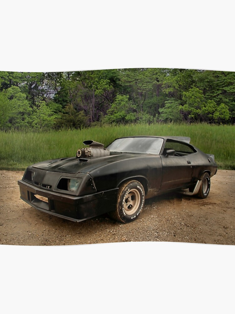 Ford Falcon Xb Gt >> 1973 Ford Falcon Xb Gt Mfp Pursuit Special Replica Poster