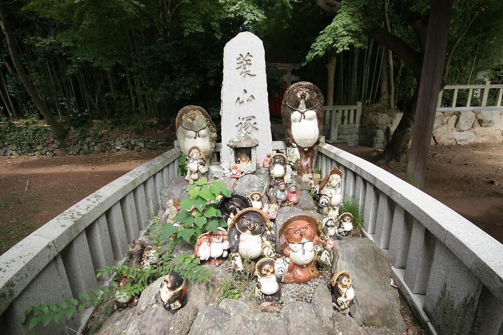 The badger god - Yashima Temple by Trishy