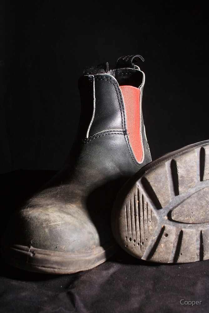 Work boots by Cooper