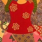 Yoga Girl #3 by FABART
