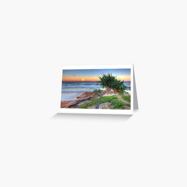 Sea and Beach Inspired Blank Greetings Cards,Water Coast Hippy Occasion Cards