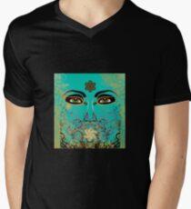 The Eyes of Time Men's V-Neck T-Shirt