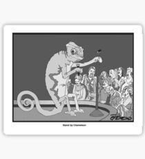 Standup Chameleon  Sticker
