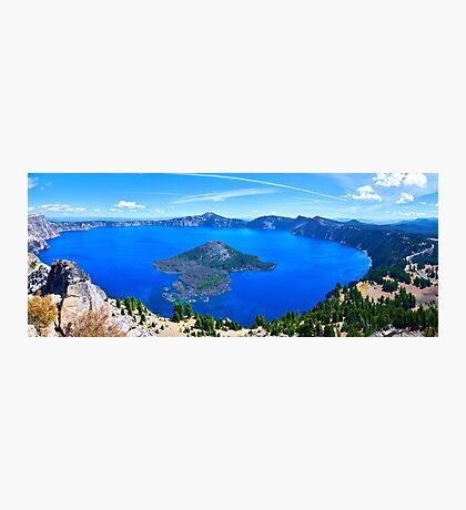 Crater Lake Panoramic Photographic Print