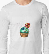 watercolor cake hand drawing T-Shirt