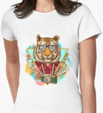 Fashion tiger Women's Fitted T-Shirt