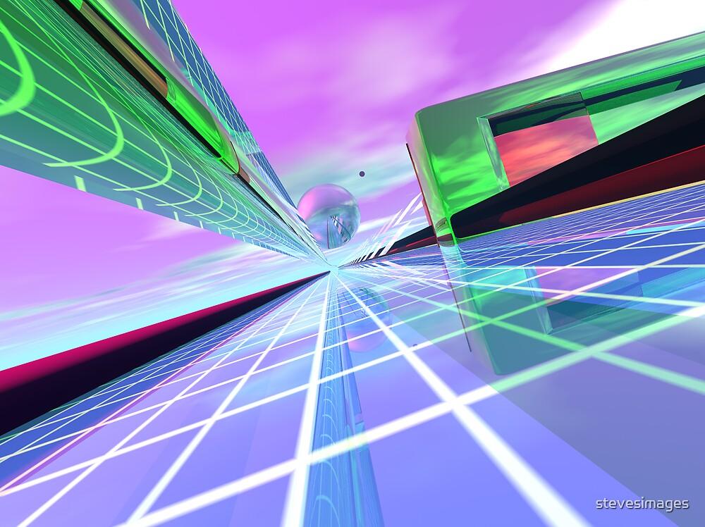 cyberspace  by stevesimages