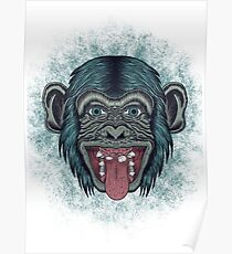 Monkey mono Poster