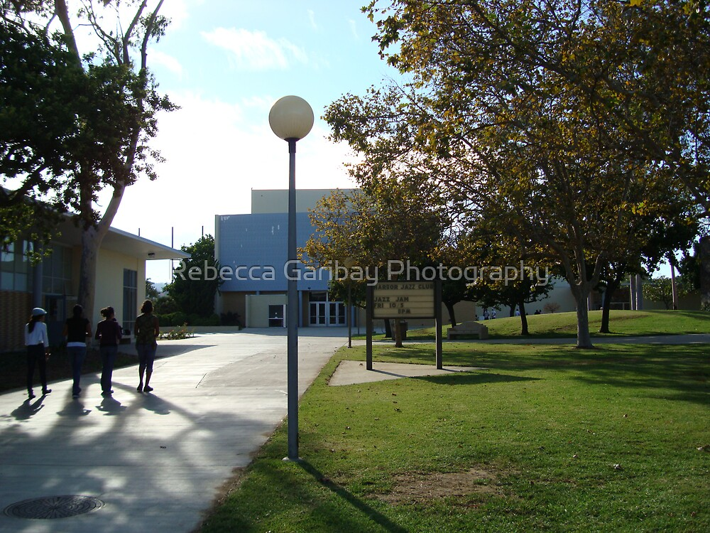 Fall in Harbor College by Rebecca Garibay Photography