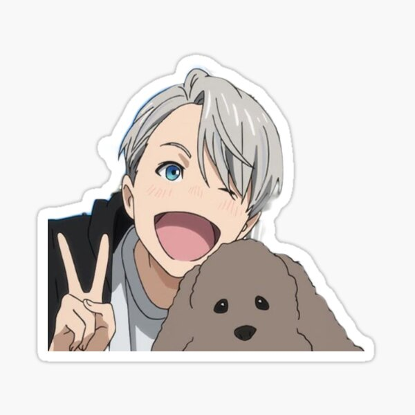 Victor and Makka! Sticker