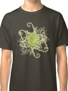 Lime and flowers garland Classic T-Shirt