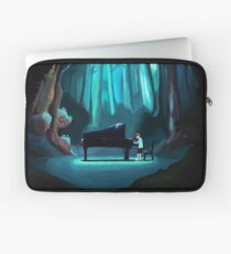 Piano in the Forest Laptop Sleeve