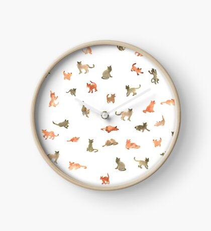 Chats Ecoline Clock