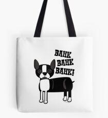 Boston Accent Terrier Tote Bag