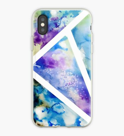 Azure and Amethyst iPhone Case