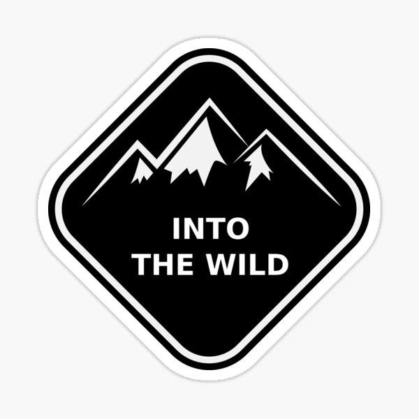 Into the Wild Sticker