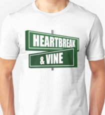 Heartbreak And Vine Hollywood California Unisex T-Shirt