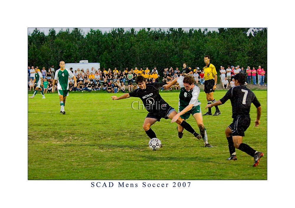 SCAD Men's Soccer by Charlie