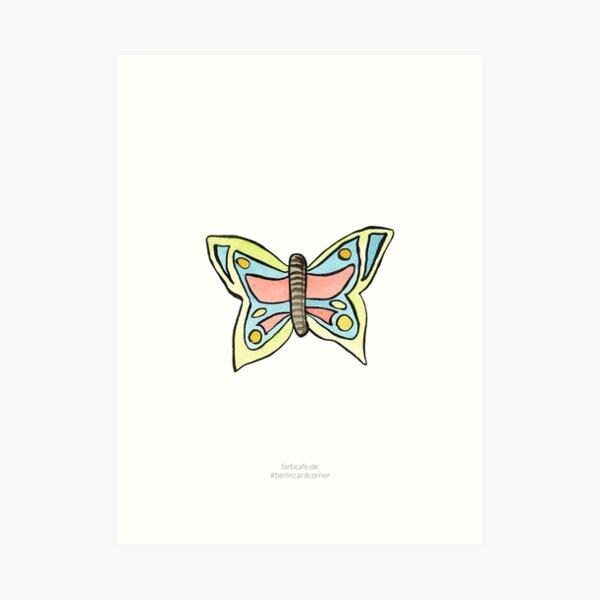 Schmetterling Kunstdruck