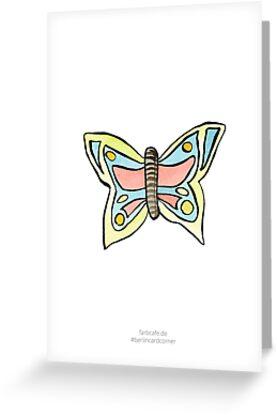Schmetterling von farbcafe