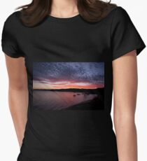 Four Element Symphony ~ Flying Fish Point Womens Fitted T-Shirt