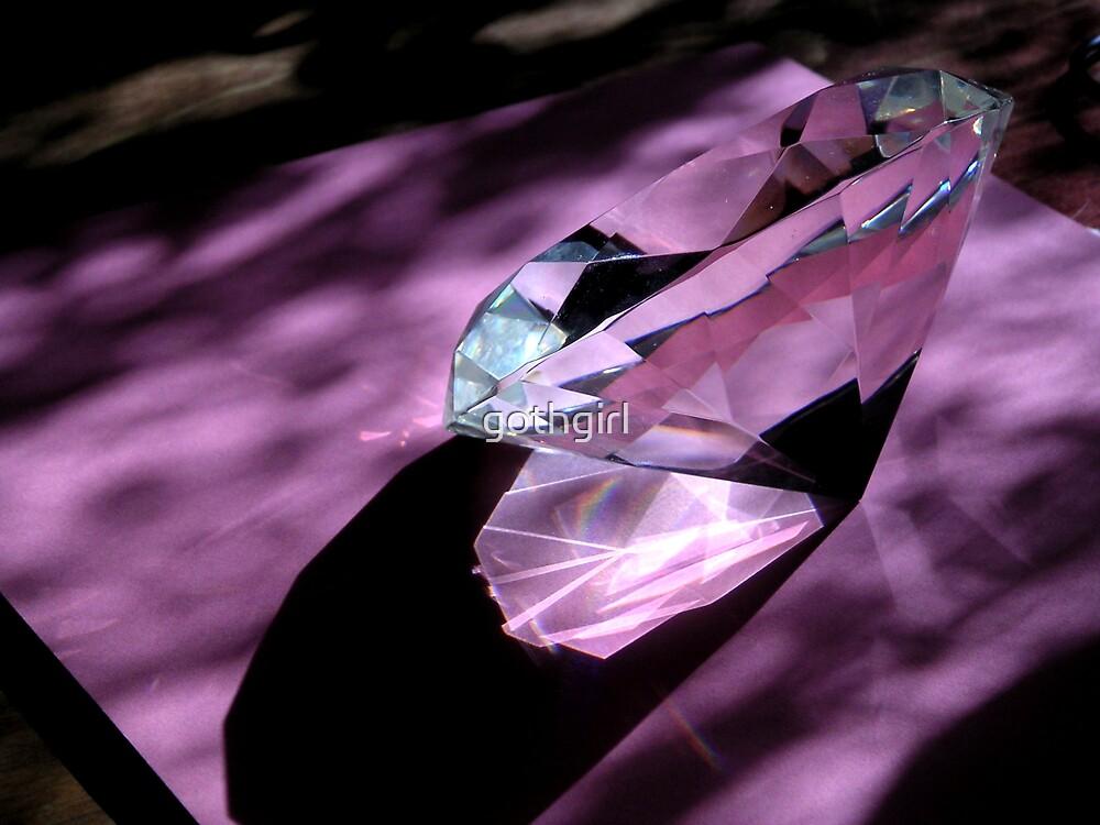 Purple light by gothgirl