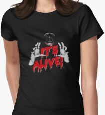Frankenstein - It's Alive! Womens Fitted T-Shirt