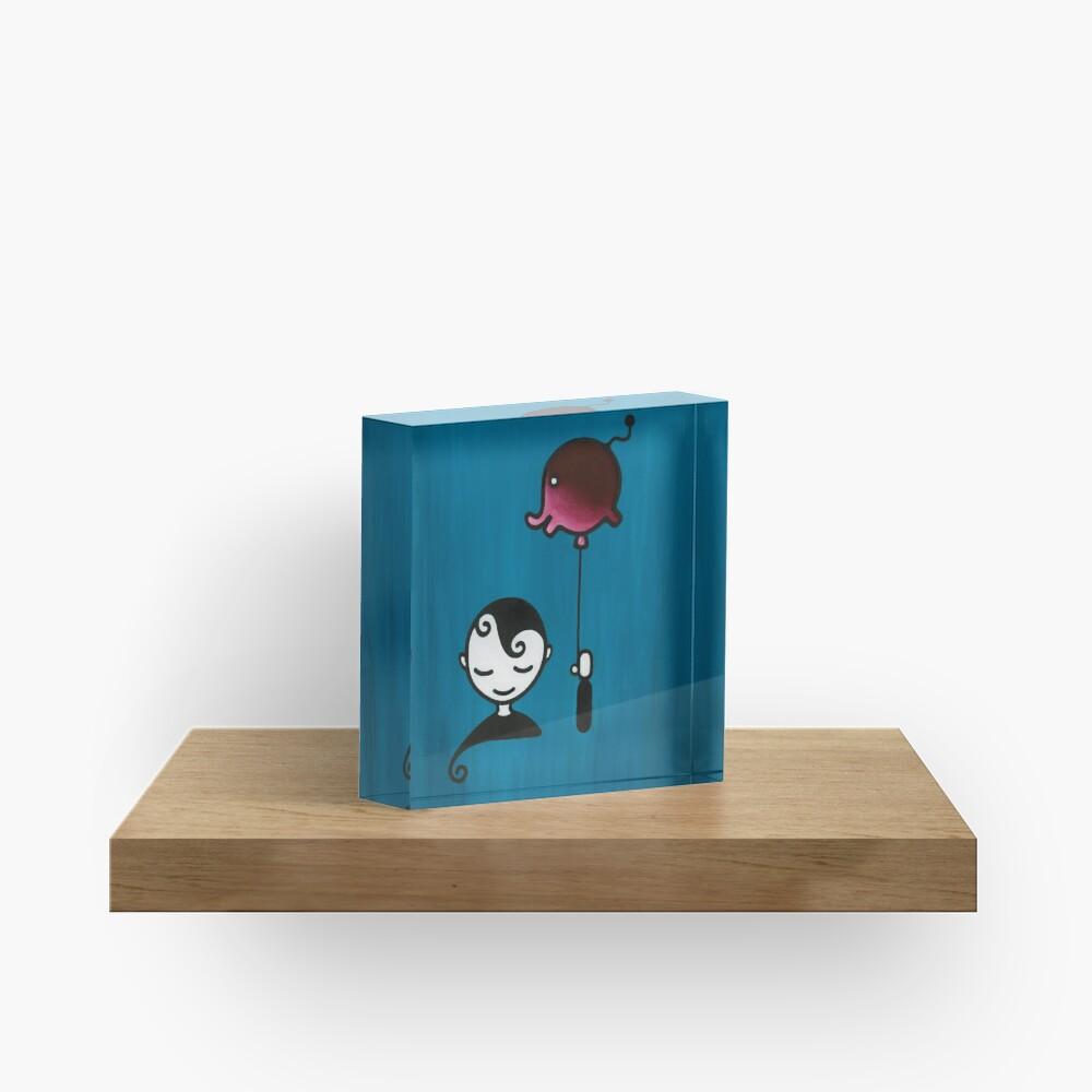 Elephant Dream – Boy with Balloon Acrylic Block