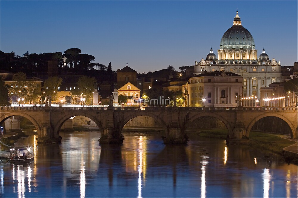 Rome at Night by Claudia Reitmeier