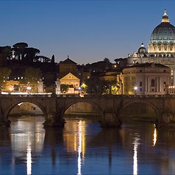Rome at Night by Gremlin