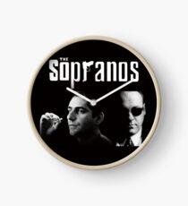 The Sopranos bw Clock