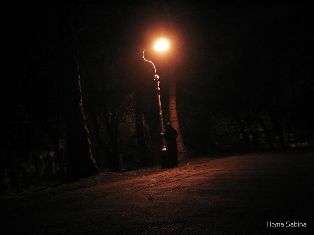 Urban Solitude 01 by Hema Sabina