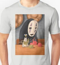 Spirited Away - Boh and No Face Knitting Unisex T-Shirt