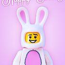 Happy Easter Print/Card by jarodface