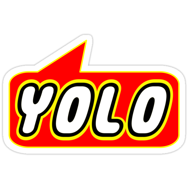 YOLO by Bubble-Tees.com by Bubble-Tees