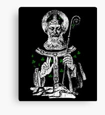 Saint Patrick Day Symbol Canvas Print