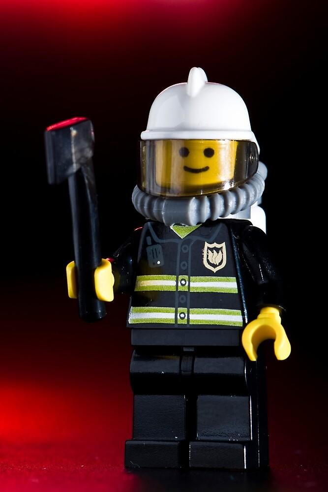 Fireman Sam Character by jarodface
